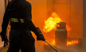 שיקום נזקי אש בקריית ביאליק