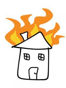 טיפול בנזקים לאחר שריפה